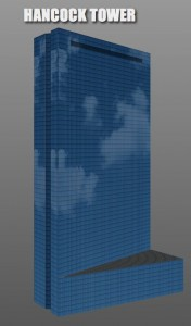 Hancock Tower built using CCS3 transforms